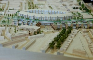 3d model of the new children's hospital at St. James's Hospital Campus