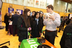 Students attending the NPHDB Careers day.